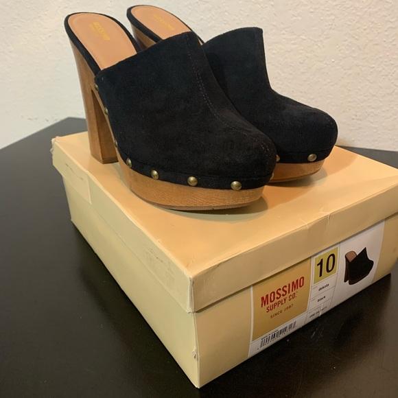 Shoes | Black Studded Clogs | Poshmark